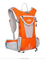 Unisex Sports & Leisure Bag Nylon All Seasons Sports Outdoor Climbing Weekend Bag Zipper Red Purple Orange Black Green 30-40