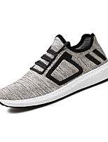 Men's Sneakers Comfort Light Soles Spring Summer Fabric Casual Black Beige Gray Flat