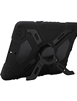 Para apple ipad mini 3/2/1 shockproof con soporte de cuerpo entero de color sólido pc duro con silicona