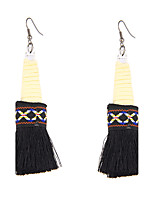 Women's Drop Earrings JewelryUnique Design Logo Style Dangling Style Tassel Geometric Punk Hip-Hop Balance of the Power USA Carved