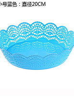European-style Hollow Lace Pattern Melon Fruit Plate Multi-purpose Snack Candy Plate