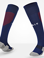 Simple Sport Socks / Athletic Socks Men's Socks All Seasons Anti-Slip Anti-Wear Cotton Soccer/Football