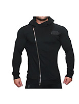 Running Pants Long Sleeves Breathability Comfortable Casual/Daily Tracksuit for Running/Jogging Exercise & Fitness Cotton Slim BlackM L