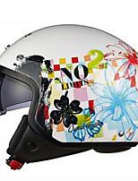Casque Bol Ajustable Compact Respirable Meilleure qualité Demi-coquille Sportif ABS Casques de moto