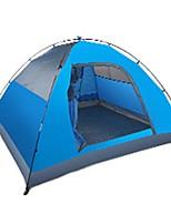 BSwolf 3-4 personnes Tente Double Tente de camping Tente automatique Etanche Résistant aux ultraviolets Résistant à la poussière Pliable