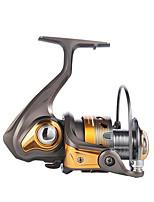 Reel Fishing Roulement Moulinet spinnerbaits 5.2:1 13 Roulements à billes EchangeablePêche en mer Pêche sur glace Pêche d'eau douce Pêche