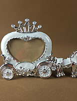 2 PC Picture Frames Country Retro Novelty Resin Crown Car European