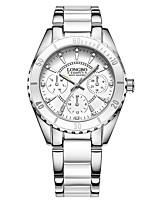 Per donnaOrologio elegante Orologio alla moda Orologio braccialetto Creativo unico orologio Orologio casual Simulato Triangolo Orologio