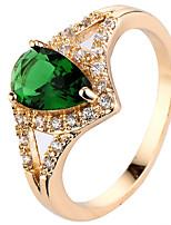 Ring Settings Ring Band Rings Women's Euramerican Luxury Elegant Creative Zircon Rhinestone 4 Colors Wedding Birthday Party  Movie Gift Jewelry