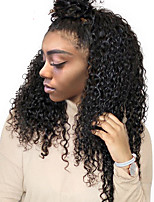 360 Lace Frontal Wigs For Black Women Pre Plucked Natural Hairline Indian Curly Remy Human Hair Wigs 360 Lace Wig For Black Women