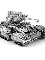 Jigsaw Puzzles 3D Puzzles Metal Puzzles Building Blocks DIY Toys Rectangular Aluminium