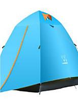 3-4 Pessoas Bolsa de Viagem Tenda Dobrada Barraca de acampamento 1500-2000 mm Tecido Alcochoado Manter Quente-Acampar e Caminhar-