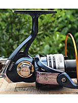 Reel Fishing Roulement Moulinet spinnerbaits 5.1:1 13 Roulements à billes EchangeablePêche en mer Pêche d'eau douce Pêche au leurre Pêche