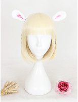 14inch Shor Beige Lolita Wig Natural Girls Hair Wig Synthetic Anime Cosplay Costume Wig CS-311A