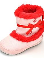 Дети На плокой подошве Удобная обувь Модная обувь Ткань Осень Зима Свадьба Повседневные Для праздника Для вечеринки / ужинаУдобная обувь