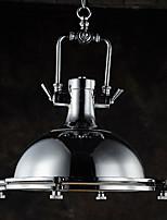 Industriale moderno singolo testa metallo con lampada a sospensione in elettrodomestico in vetro per bar caffè sala decorare loft stile