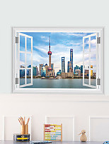 3D Wall Stickers Wall Decas Style Animated Pearl PVC Wall Stickers