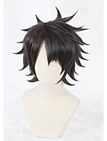 12inch Short Brown Fate/Grand Order Fujimaru Ritsuka Wig Synthetic Anime Cosplay Wigs CS-331B