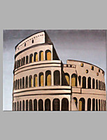 IARTS® Modern Abstract Oil Painting Rome Gladiator Arena Picture with Stretched Frame Handmade Oil Painting For Home Decoration Ready To Hang