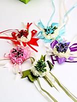 Свадебные цветы Букетик на запястье Свадебное белье Для специальных случаев Около 7 см