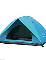 2 personnes Tente Double Tente automatique Une pièce Tente de camping 2000-3000 mm OxfordGarder au chaud Ventilation Tente Respirabilité