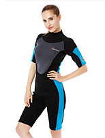 Women's Boating Ultraviolet Resistant Diving Suit Long Sleeve Tops-Swimming Beach Surfing Sailing Watersports All SeasonsSolid Special