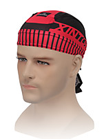 XINTOWN Cycling Hat Men Pirate Bandana Bicycle Sweatproof Headband Quality Sunscreen Spider Red