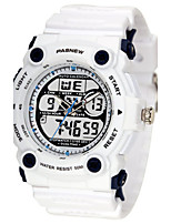 Men's Sport Watch Fashion Watch Digital Water Resistant / Water Proof Rubber Band Black