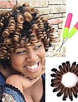 Afro Kinky Tresses Crochet Bouclé Bouncy Curl 100% cheveux kanekalon KanekalonNoir / Blond Fraise Noir / Medium Auburn Noir / Bourgogne