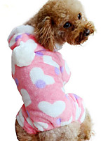 Dog Hoodie Dog Clothes Casual/Daily Solid Blue Ruby Yellow Purple Black
