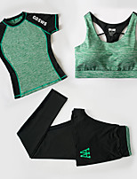 Female Running Clothing Suits Fitness, Running & Yoga Summer Sports Wear Yoga Running/Jogging Jogging Fitness Slim