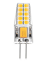 3W Luces LED de Doble Pin T 20 SMD 2835 300 lm Blanco Cálido Blanco V 1 pieza