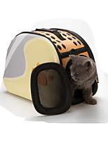 Gato Tranportadoras e Malas Animais de Estimação Transportadores Portátil Respirável Pegada / Paw Preto