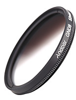 Andoer 52mm Circular Shape Graduated Neutral Density GND8 Graduated Gray Filter for Canon Nikon DSLR Camera