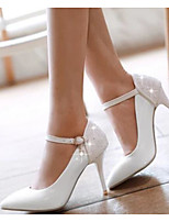 Women's Shoes Nubuck leather PU Summer Comfort Heels For Casual White Red Blushing Pink