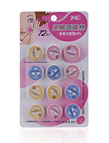 Fenlin 12 Pieces Pills-like Pressed Mask Empty