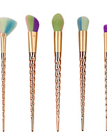 5 Pcs Unicorn Berlian Kosmetik Makeup Brushes Set Yayasan Mata Blusher Powder Blending membuat Sikat