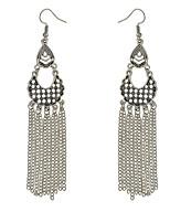 Drop Earrings Women's Euramerican Fashion Personalized Tassel Alloy Bohemian Earrings  Party Daily Movie Jewelry