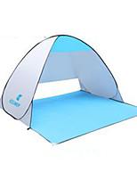 3 a 4 Personas Colchoneta de Camping Tienda de playa Carpa para camping Tienda de playa Resistente a los UV para Camping y senderismo CM