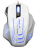AULA 2500DPI 6600FPS 80IPS Gaming Mouse Wired Game Mouse White