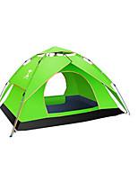 3 a 4 Personas Tienda Doble Carpa para camping Tienda de Campaña Automática Impermeable Resistente a la lluvia A prueba de insectos para