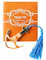 Nautical Theme Anchor Bottle Opener in Thank You Gift bag Beter Gifts® Groomsman / Bachelor Party Favor