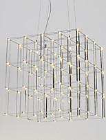 Современная светодиодная люстра из нержавеющей стали 90-240v лампа для освещения гостиной в гостиной