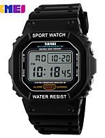 Damen Herrn Sportuhr Kleideruhr Smart Uhr Modeuhr Armbanduhr Digitaluhr Chinesisch digital Kalender Großes Ziffernblatt Silikon Band