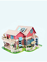 Jigsaw Puzzles 3D Puzzles Building Blocks DIY Toys House Paper