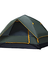 3-4 persons Tent Double Automatic Tent One Room Camping Tent 1000-1500 mm Camping / Hiking Hunting Fishing Climbing Camping Traveling-