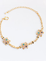 Bracelet Chain Bracelet Tennis Bracelet Alloy Rhinestone Animal Shape Personalized Birthday Party Daily Christmas Gifts Jewelry Gift Gold,