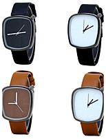 Муж. Модные часы Наручные часы Повседневные часы Китайский Кварцевый / PU Группа Винтаж Повседневная Люкс Элегантные часы минималист