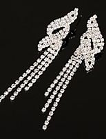 Women's Drop Earrings Rhinestone AAA Cubic Zirconia Classic Elega Jewelry For Wedding Anniversary Party/Evening