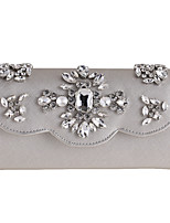 L.WEST Women's fashion diamond diamond Dinner Wristlet clutch Bag